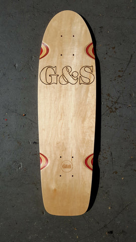 G&S PROTAIL 500 skateboard deck - NATURAL