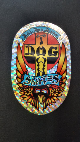 Dogtown BULLDOG STICKER - FOIL