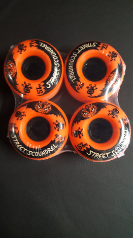 Street Plant Street Scoundrel wheels ORANGE 57mm 97a Mike Vallely