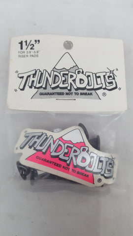 Vintage THUNDERBOLTS HARDWARE set of 8 - 1 1/2""