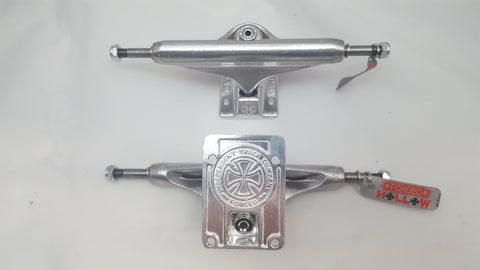 "Independent trucks 169 FORGED HOLLOW - 9.125"" SILVER (set of 2)"