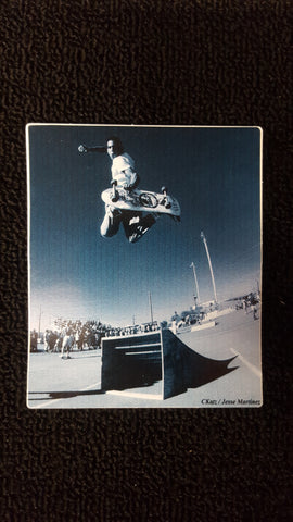 Jesse Martinez Z Flex STICKER - CKatz Photo