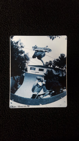 Hosoi and PB Z Flex STICKER - CKatz Photo