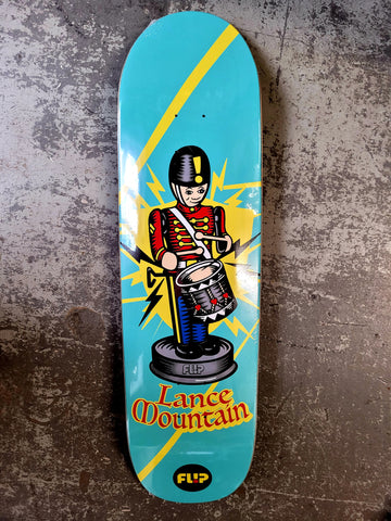 FLIP Lance Mountain TOY SOLDIER skateboard deck  - LIGHT BLUE