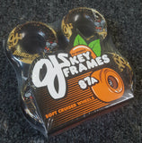 OJ wheels Key Frames Black Cats 58mm 87a BLACK