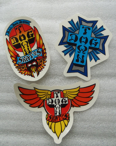 DogTown 3pk Stickers