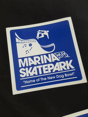 Marina Del Rey sticker  BLUE
