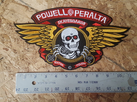 Powell Peralta Skateboards LARGE PATCH Bones