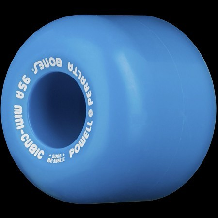 Powell Peralta Mini Cubic wheels 95a BLUE