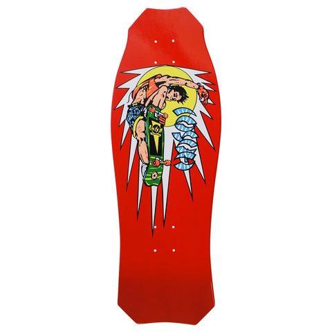 Hosoi Oldschool Skateboard Reissue Rocket Air Deck RED– 10.25 X 30.25