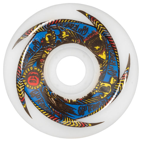 OJ II Team Rider Speedwheels 61mm 97a WHITE