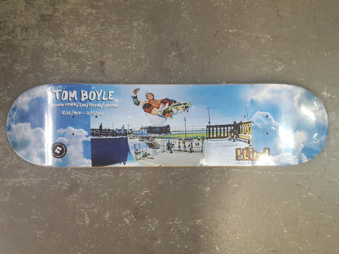 Tom Boyle BLIND Tribute Skateboard Deck 8""