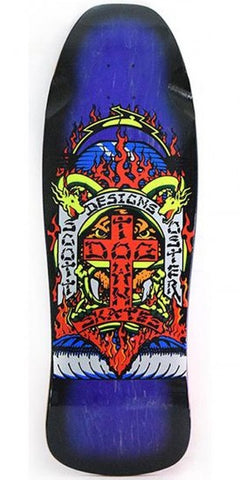 DogTown SCOTT OSTER reissue Skateboard Deck  - PURPLE BLACK