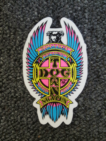 Dogtown Eric Dressen Pup sticker 4""