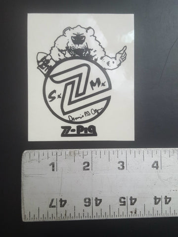Z Flex Sticker (Dennis Agnew Polar Bear S.M.)