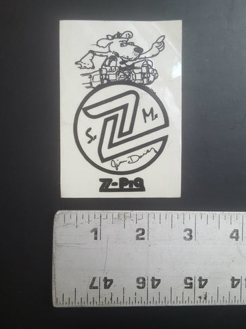 Z Flex Sticker (Jim Davey dog)
