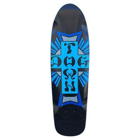 "Dogtown Cruiser Mini Cross Logo Skateboard Deck 7.625"" x 26.5"" BLUE"