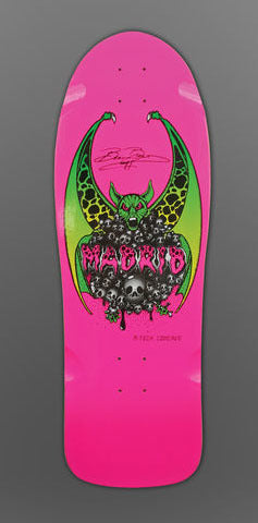Madrid Beau Brown Reissue Skateboard
