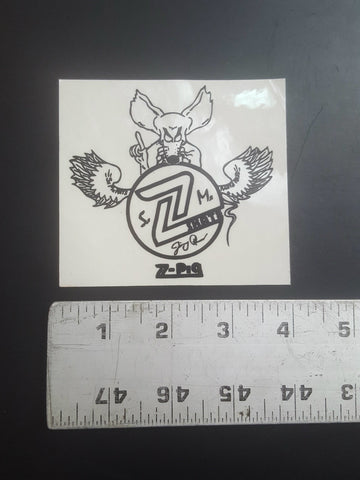 Z Flex Sticker (Jimmy Plummer rat)