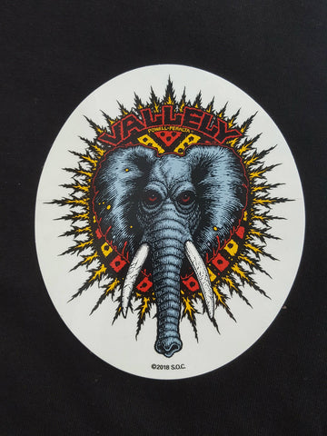 Mike Vallely Powell Peralta ELEPHANT sticker