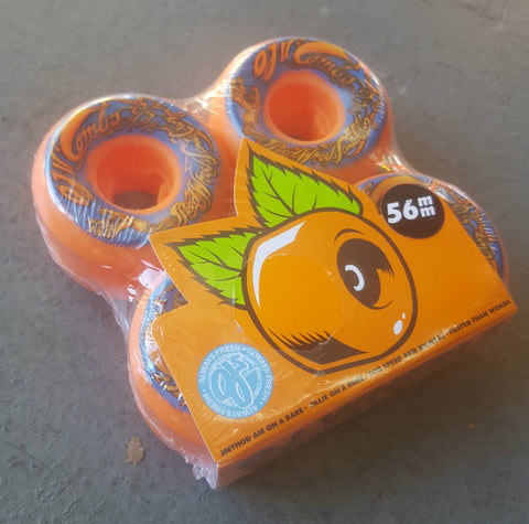 OJ Mini Combos wheels 56mm 95a ORANGE