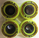 Rainskates Yellow Jackets  62mm 98A