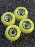 Vision Blurr wheels 60mm 96A reissues LIME YELLOW
