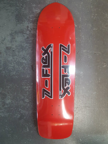Z Flex oldschool shape skateboard CLASSIC LOGO RED