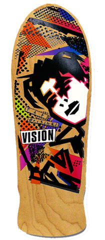 VISION Mark Gonzales GONZ reissue skateboard deck - NATURAL