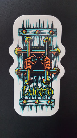 Lucero X1 bars STICKER - X1
