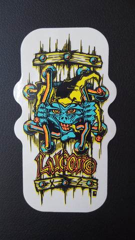 Lucero X2 bars STICKER - X2