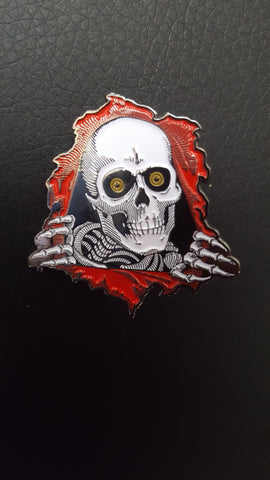 Powell Prealta Ripper enamel pin