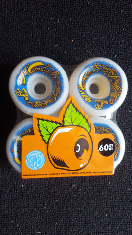 OJ II Combos skateboard wheels 60mm 95a - WHITE