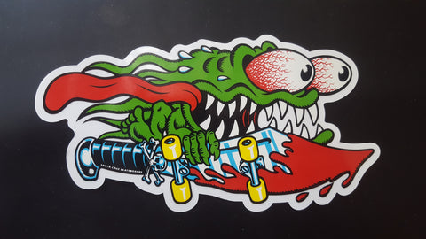 Santa Cruz Classic SLASHER sticker 6.5""