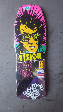 Vision PSYCHO STICK Modern Concave skateboard deck - PURPLE STAIN