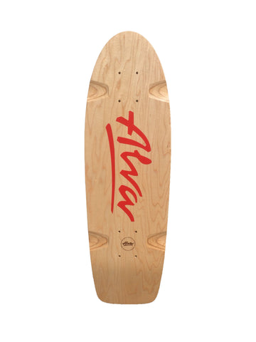 Alva BELLA reissue skateboard deck - RED