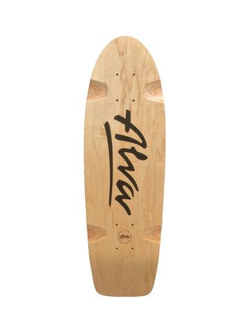 ALVA BELLA reissue skateboard deck - BLACK