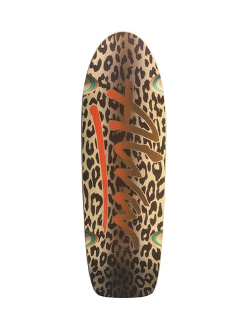 Alva MODERN 1979 LEOPARD reissue skateboard deck - ORANGE