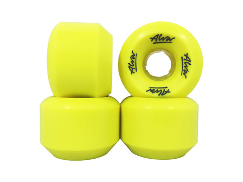 ALVA Conical Wheels - 59mm 88a - YELLOW