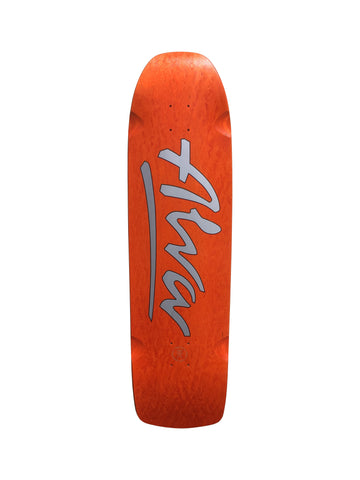 Alva / Power Station SHORT STUFF skateboard deck - ORANGE