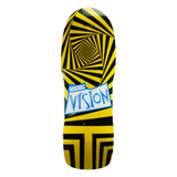 "Vision ORIGINAL VISION ""GATOR"" MODERN concave skateboard deck - YELLOW STAIN"