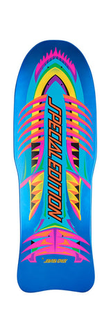 *Preorder* Santa Cruz SPECIAL EDITION Fish Reissue skateboard deck- BLUE