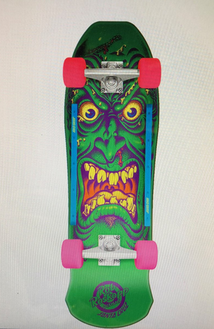 Santa Cruz reissue COMPLETE skateboard ROB ROSKOPP Face - GREEN