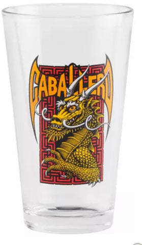 Powell Peralta Steve Caballero Pint Glass