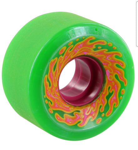 Santa Cruz Cruiser wheels Slime Balls Mini OG reissue 54.5mm 78a - GREEN