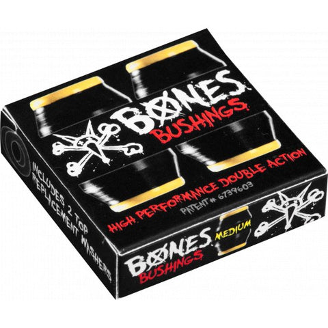 Powell Peralta BONES skateboard Bushings - MEDIUM BLACK