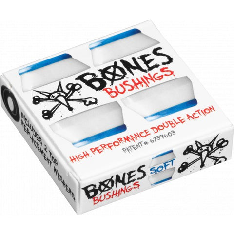 Powell Peralta BONES skateboard Bushings - SOFT WHITE