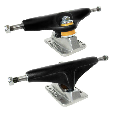Tracker AXIS 149 Trucks SET of 2 - BLACK SILVER