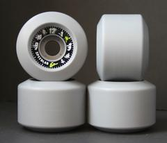 Speedlab Time Flies skateboard wheels - GREY 60mm 100a