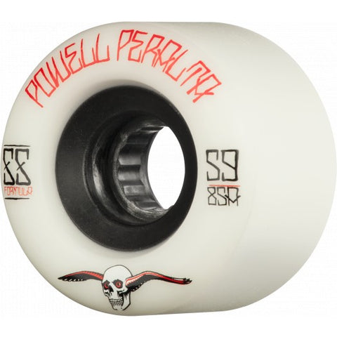 Powell Peralta G SLIDES wheels 59mm 85a - WHITE